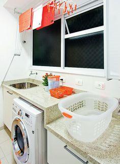 lavanderia pequena