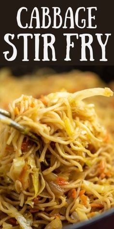 My favorite cabbage recipe! This ramen noodle stir fry with cabbage is so delicious and easy to make! A yummy dinner and the BEST topped with sweet chili sauce! Ramen Noodle Cabbage Stir Fry Recipe - Build Your Bite Build Your Bite buildyourbite Stir Fry Recipes, Veggie Recipes, Asian Recipes, Vegetarian Recipes, Chicken Recipes, Cooking Recipes, Healthy Recipes, Top Ramen Recipes, Healthy Ramen