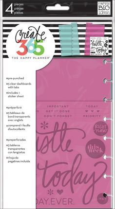 Dashboards - 3 pack for The Happy Planner™ | me & my BIG ideas