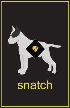 Snatch. Love this poster.