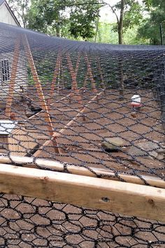 """cool info on how to build a super cool chicken run. Predator proof and roomy. From """"my pet chicken"""" blog 20120904_172518"""