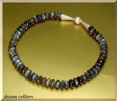 mystisches Labradoritcollier von Dream-Colliers auf DaWanda.com