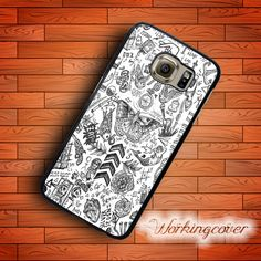 Coque One Direction Tattoo Case for Samsung Galaxy S7 S6 S5 S4 S3 Edge Plus Case Cover for Galaxy Grand Prime Case.