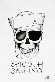 Redraw for a sugar skull effect.