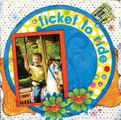 Ticket To Ride - Scrapbook.com