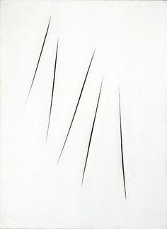 Lucio Fontana   #saltstudionyc @Salt Studio NYC