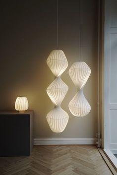 Cool Lighting, Modern Lighting, Lighting Design, Industrial Style Lamps, Interior Architecture, Interior Design, Ceiling Light Design, Dream Decor, Bedroom Lighting