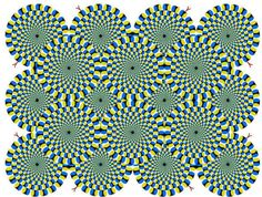 spinning circle mind illusion - Google Search