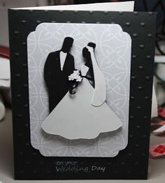 Fantabulous Cricut Challenge Blog: Challenge #165: Wedding Days.  Cricut cartridge- Tie the Knot.