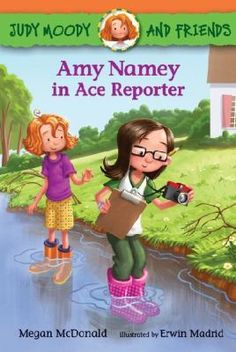 Amy Namey in Ace Reporter - Megan McDonald