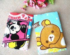 Character Cartoon Home Children Children Face Hand Towel