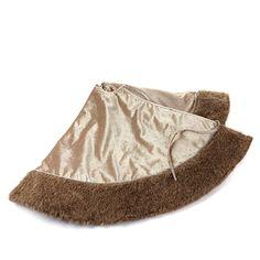 Colin Cowie Faux Fur Trim Tree Skirt Faux Fur Tree Skirt, Fur Trim, Tree Skirts, Fashion, Moda, Fashion Styles, Fashion Illustrations