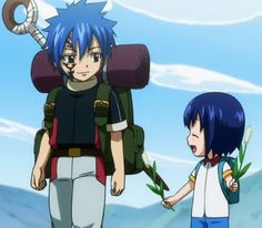Mystogan and Wendy - Fairy Tail.