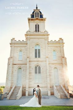 Hannah & Christian's Groomals: Manti Temple » Laurel Parker Weddings