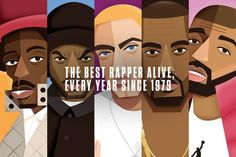 The rapper who stole each year, from the start of hip-hop until now.
