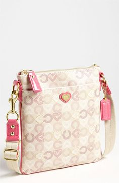COACH 'Heart' Crossbody Bag available at #Nordstrom
