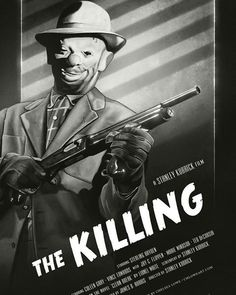 "Posters de la pelicula ""The Killing"" dirigida por StanleyYou can find Stanley kubrick and more on our website. Creepy Clown, Movie Poster Art, Stanley Kubrick, Filmmaking, Romance, Website, Clowns, Instagram, Cinema"