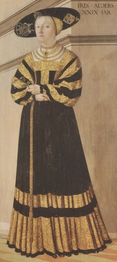 Seisseneger, Jacob: Anna z Rožmitálu. dnes: zámek Jindřichův Hradec (scan z knihy)