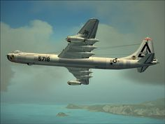 """Correction - Convair B-36 """"Peacemaker"""", not a Boeing B-52 Stratofortress as previously posted."""