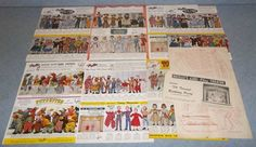 This is the largest lot of Hazelle's Marionettes catalogs I have ever purchased in one place.  I have had a pretty good time of collecting brochures from the 1950's, but these look to be from the 1960's and I think there are at least one or two I don't have yet.  I am probably the only person in the world who could get this excited about these.  Purchased all on June 1, 2015 through online auction for $9.99 + $3.50 s&h.