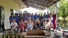 Candon City #LionsClub (Philippines) donated wheelchairs, food, clothing and other items to residents at a home for the elderly