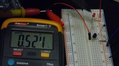 Thermistor test circuit 2 Temperature controlled voltage divider On Off ...