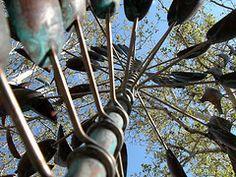 Metal Sculpture   Tlaquepaque Sedona, AZ