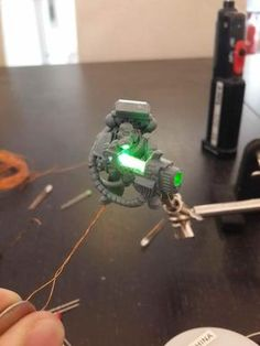 [Blind them with SCIENCE] LEDs, Space Marines and You by Boss Fearless - Forum - DakkaDakka   Toy Soldiers for *real* men.