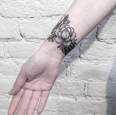 wrist band tattoos