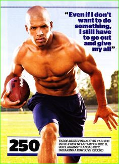 September Hunk of the Month: Miles Austin of the Dallas Cowboys (via Muscle and Fitness)