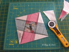 El blog de Dori: Tutorial, Quilt X-Block.