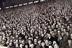 The Kop in its 1960s pomp