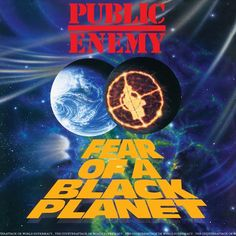 """Public Enemy Fear Of A Black Planet on LP 25th Anniversary Collector's Vinyl Edition w/ Special """"Fade To Black"""" 3D Cover Produced by the Bomb Squad and home to the hit singles, """"Fight the Power,"""" (fam"""