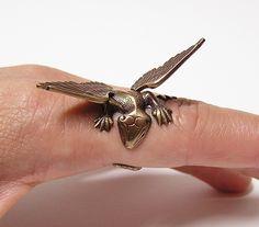 copper dragon ring