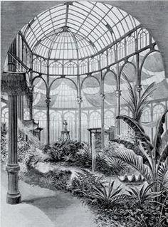 El Palacio de Cristal se diseñó para ser invernadero de plantas exóticas. #madrid