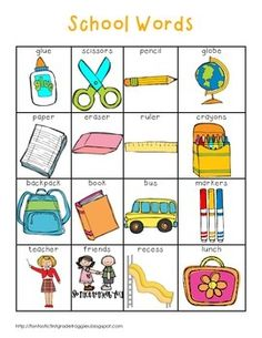 A Year of Words-Writing Center Tools Kindergarten Writing, Teaching Writing, Teaching Tools, Teaching English, Literacy, English Activities, Writing Activities, Preschool Activities, English Lessons
