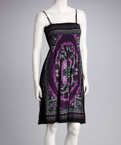 Take a look at this Purple Arabesque Sundress - Women by India Boutique on #zulily today!   http://www.zulily.com/invite/ngrahe352