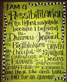 possibilities | #quote