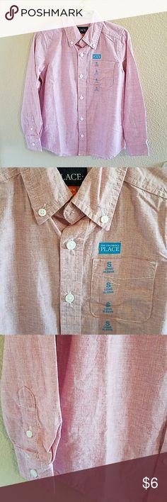 Children's Place NWT Boys Button Down Shirt size S Handsome NWT Boys Children's Place Button Down Shirt Size Small 5/6 Children's Place Shirts & Tops Button Down Shirts