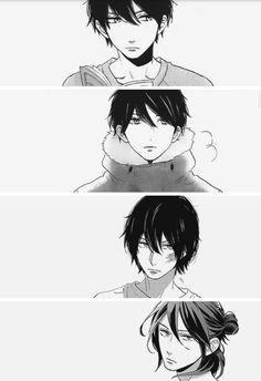 Akatsuki: young to adult