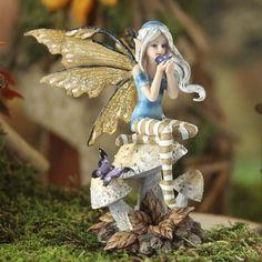Mystical Curious Toadstool Fairy #fairygarden #factorydirectcraft