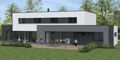 Bertrand Pouwels est à la fois architecte et constructeur spécialisé dans la construction de maisons cubiques dans le Nord de la France.
