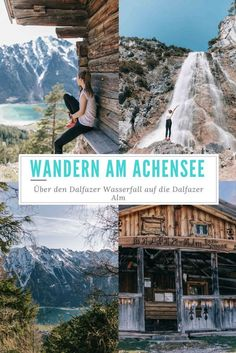 Hiking at the Achensee in Tyrol: over the Dalfazer waterfall to the Dalfaz Alm at 1693 meters. Hiking: Over the Dalfazer waterfall to the Dalfaz Alm - LOVELY Alina Schneider Urlaub Hiking at the Achensee in Tyrol: over the Dalfazer Europe Destinations, Europe Travel Tips, Travel Hacks, Holiday Destinations, Cool Places To Visit, Places To Travel, Places To Go, Travel Photographie, Les Cascades