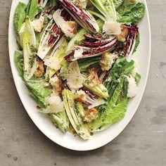 Romaine, Radicchio, and Endive Salad