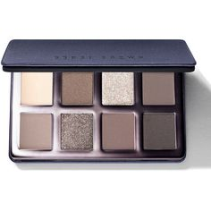 Bobbi Brown Limited Edition Greige Eye Palette ($70) ❤ liked on Polyvore featuring beauty products, makeup, eye makeup, eyeshadow, beauty, cosmetics, eye shadow, bobbi brown cosmetics and palette eyeshadow