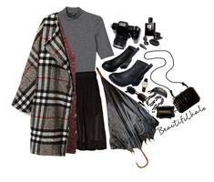 """Rainy days!!!"" by lsaroskyl ❤ liked on Polyvore featuring Monki, rag & bone, DK, Fendi, Kenneth Jay Lane, Versace, Frédérique Constant, Kate Spade, beautifulhalo and bhalo"