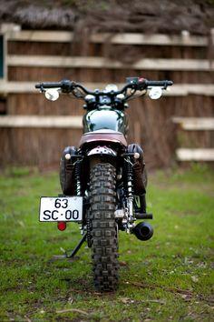 Hanway custom Scrambler, small bike, 125cc