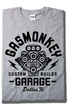 Camiseta Engine - Gas Monkey