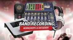 Band Recording Special 2014: Workshop - DAW vorbereiten  - http://www.delamar.de/allgemein/band-recording-special-2014-daw-vorbereiten-25434/?utm_source=Pinterest&utm_medium=post-id%2B25434&utm_campaign=autopost
