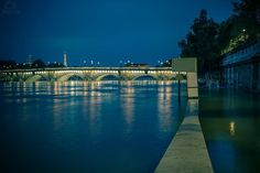 Paris, Always Amazing Thanks to the photographer Wazim Photos Photos de la Seine lors de l'incroyable crue de Juin 2016, prises de nuit